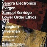 Plaegium @ Contort #4 //251112// Mindpirates Berlin