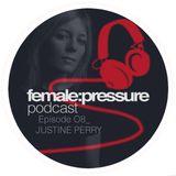 female:pressure podcast Episode 08: Justine Perry
