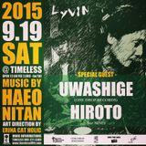 """2015.9.19 """"Lyvin"""" @ TIMELESS (kagoshima,JAPAN)"""