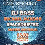 """DJ Bass live """"Leiden Goes Underground"""" @ Scheltema-complex 05-03-2017"""