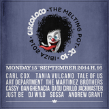 Carl Cox (Global 600) - Live At Circoloco, DC10 (Ibiza) - 15-Sep-2014