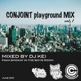 DJ KEI CONJOINT playground MIX vol.01 : June 2011