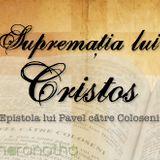 1. Introducere - Coloseni 1.1-2 Pastor Emanuel Grozea