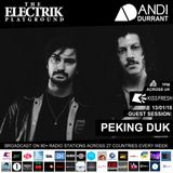Electrik Playground 13/1/18 inc. Peking Duk Guest Session