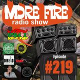 More Fire Radio Show #219 Week of May 3rd 2019 with Crossfire from Unity Sound