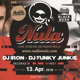 Switch 2 Radio Nula / Serbian Special - DJ Iron b2b DJ Funky Junkie part 1