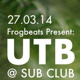 Frogcast 20 : RIZE - Liquifunk Mix (UTB Promo)