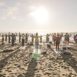 Silent Disco Yoga DJ Set at Baker Beach: 7/14/17