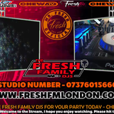Lunch Box show with Mr Fresh Every Thursday's 12pm-4pm on www.freshfmlondon.com