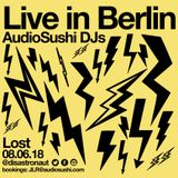 Audio Sushi DJs / DJ Disastronaut Live in Berlin 08.06.18 - Electronica Trap House Techno Experiment