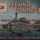 Cor Zegveld exclusive radio mix Techno Connection UK Underground FM 23/08/2019