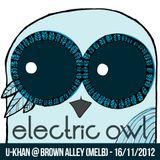 U-khan Live Set @ Brown Alley (Melb) - 16/11/12