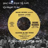 discovery sessions #37 - disco 100: 36-30 - 20/5-2017