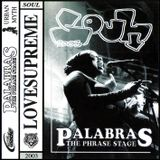 PALABRAS LOVESUPREME MIXTAPE 2003