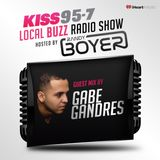 "Gabe Gandres Guest Mix on Kiss95.7 Randy Boyer's ""Buzz Radio"" Show  07.08.17"