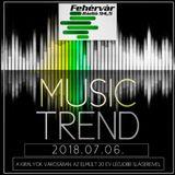 Mr. Tom - Music Trend (2018.07.06.) - Live @ Fehervar Radio