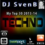 DJ SvenB - My TECHNO Top 30 2013-14
