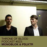 Monoblok & PSLKTR : Throne Of Blood Podcast