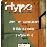 "Hype-01 a journey into drum n bass. Dj Angulo. 8.09.2018 ""Club Yasta-Madrid"""