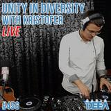 Kristofer - Unity in Diversity 456 (live) @ Radio DEEA (07-10-2017)