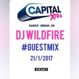 DJ Wildfire CAPITAL XTRA Guest Mix 21.1.2017