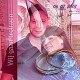 Dj Ollii @ Nikky's & Gwen Wildermans trouwfeest 06-07-2013 te Peer