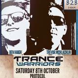 Trance Warriors Room recorded Live Ben Haigh & Trevor McLachlan 3-6am @Vinyl Warriors Protocol