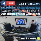 Jan 2018 MIXATHON - Dj Fagan and Edwin Marmara head to head old skool mix