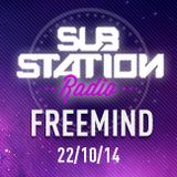 ● FREEMIND ● Set + entrevista en Substation Radio On Line ● OCTUBRE 2014