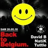 David B DJ - Mix Session - Juin 2018 - Back To Belgium @ Sound Metz 26/05/2018 (Vinyl Only)