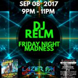 DJ Relm Friday night Madness show, Happy hardcore, old and new 08/09/2017