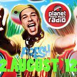 DJ Jellin planet radio black beats show - 2.August 2012