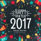 Sunday night(01-01-2017) special new year transmission show presented on music live fm