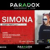 GANS@PARADOX SIMONA'S BIRTHDAY MAY1818