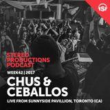 WEEK42_17 Chus & Ceballos Live from Sunnyside Pavillion, Toronto (CA)