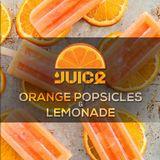 Orange Popsicles & Lemonade