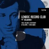 TESTFM - Lendoc Record Club #11 with Belmondo