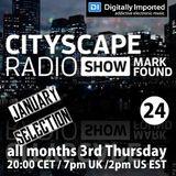 Cityscape Radio Show 24 Digitally Imported January 2017
