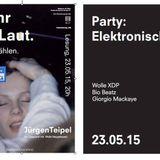 """""""Mehr als laut"""" WolleXDP (DJ-Set) in Bielefeld Mai 2015"""