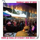 SOUL OF SYDNEY #148: Kon (Kon & Amir, BBE Records) at Soul of Sydney 2nd Birthday | Nov 2013