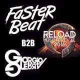 Faster Beat & Giorgio Guerra @Mainstage, Reload Music Festival, Turin 27-02-2016