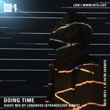 Doing Time - Guestmix by Longboss (Strangelove Music) - 8th April 2018