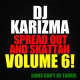 DJ KARIZMA - SPREAD OUT AND SKATTAH VOL 6! LIONS CAN'T BE TAMED. (APRIL 2013 D&B MIX)