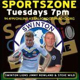 Swinton Lions Jimmy Rowland & Steve Wild On I-Pro Sport Cup Final