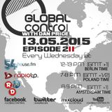 Dan Price - Global Control Episode 211 (13.05.15)