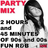 2 HOURS and 45 MINUTES of 90s and 00s FUN R&B LIVE! (2014)