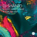 DJ SHANTO | ECSTATIC DANCE SUNDAY | 19 FEBRUARY 2017