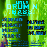 Only Drum'n'Bass on OOS Radio 13-JUNE-2018.