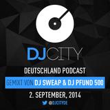 DJ Sweap & Pfund 500 - DJcity DE Podcast - 02/09/14