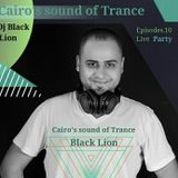 New Year _Cairo's Sound Of Trance Episodes.10 ( Live Party_Dj Black Lion)